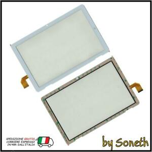Verre Écran Tactile Pour MEDIACOM Smartpad Iyo 10 M-SP1FY4G 4G Blanc