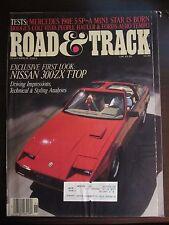 Road & Track Magazine November 1983 Nissan 300ZX T-Top (TT)