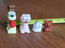 Vintage 80s Porcelain Garfield Characters Odie Pooky Arlene Nermal Figurines