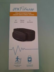 Jtx fitness polar compatible heart rate chest strap