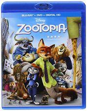 Zootopia  (DVD + Digital Copy +  Blu-ray) 2016, (SEALED) ***NEW***