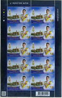 THAILAND STAMP 2019 CORONATION KING'S Vajiralongkorn Rama X P NEW FULL SHEET