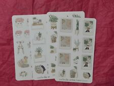 The Planner Society Four Piece Succulent Sticker Sheets