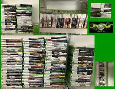 Microsoft Xbox 360 Games Complete Fun You Pick & Choose Video Games OEM