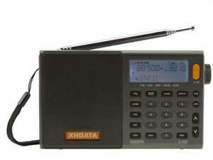 XHDATA D-808 HF Receiver AM/FM/USB/LSB  Wideband  150kHz to 137Mhz