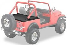 Jeep Wrangler YJ Duster Heckabdeckung Bestop Black Denim Verdeck 87-91