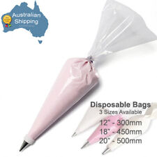 """200pc Disposable Piping Bags 30.5cm (12"""") Cake Decorating"""