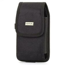 RUGGED CANVAS CASE VERTICAL BELT HOLSTER SIDE COVER POUCH R5Y for SMARTPHONES