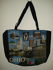 New Mill Street Design Tapestry Canvas Tote Bag  Ohio