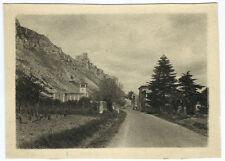 Photo paysage de la Drôme par paul Jacquin Valence. Effet dessin crayon 1930