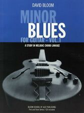 LEARN Minor Blues For Guitar Learn to Play Rock Chord TAB Music Book & CD LESSON
