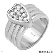 DYRBERG/KERN of DENMARK! Genesia Collection New Shiny Silver Finished Ring