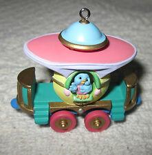 "Collectible Hallmark Easter Ornament-1998 ""Passenger Car"" Cottontail Ex. Cute!"