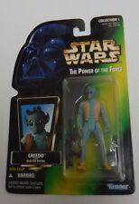 Greedo Bounty Hunter 1996 Power of the Force POTF Star Wars