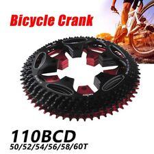 Road bike Round Narrow Wide Sprockets 110 BCD 50/52/54/56/58/60T Chainwheel..·