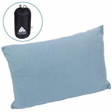 Deluxe Pillow Azul 40x30x10 Almohada de viaje de cuello Bolsa de almohada