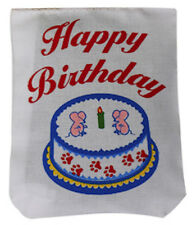 DR DANIELS CATNIP FILLED CAT TOY HAPPY BIRTHDAY SACK 1 PACK BAG. FREE SHIP USA