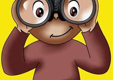 Curious George Cartoon Kids Children Art Print Poster Yf1291