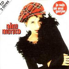 CD SINGLE EUROVISION 1994 France : Nina MORATOJe suis un    vrai garçon 2-Track