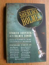 Laurie R. King In the Company of Sherlock Holmes SIGNED by 9 1st ed HC New