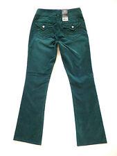 Silver Brand Jeans Suki Surplus Corduroy Pants Cords Size 25 Teal