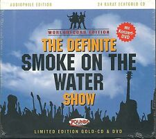 The Ultimate Smoke On The Water Show Various Zounds 24 Kt Gold CD + DVD Neu OVP