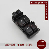 Power 35750-TBD-H13 Window Master Control Switch for 2008-2012 Honda Accord 2.4L
