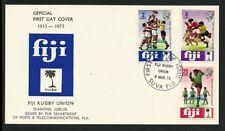 Fiji 1973 - Rugby Union Diamond Jubilee FDC - FDI Suva Fiji