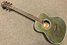 """Lawson Acoustic Gs Guitar spruce top Sapele Vintage trans Black 36"""" mini"""