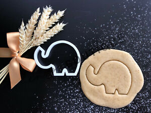 Elephant Cookie Cutter 03 | Fondant Cake Decorating | UK Seller