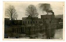 Ellicottville NY - BORDENS CREAMERY CONDENSERY - RPPC Postcard