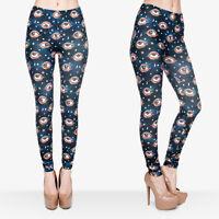 Women Eyes 3D Graphic Print Jeggings Skinny Stretchy Yoga Soft Leggings