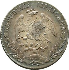 Mexiko 8 Reales 1893 ERHALTUNG Mexico Coin Münze (D99)
