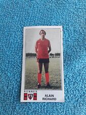 Panini Football 77 Foot 1977 Rennes Stade Rennais Alain Richard 296