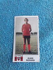 Panini Football 77 Foot 1977 Rennes Stade Rennais Alain Richard 296
