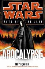 Star Wars Fate of the Jedi - Apocalypse by Troy Denning (2012, Hardcover)