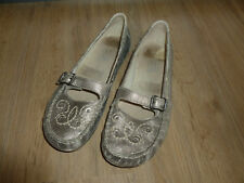 camel active Ballerinas Schuhe silber 5 38
