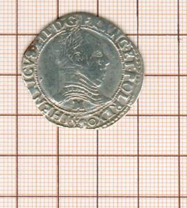 la ligue 1/2 demi franc 1590 M Toulouse au nom d'Henri III