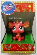 LITTLEST PET SHOP CHINESE NEW YEAR OF THE DRAGON SPARKLE GLITTER 2484 NEW