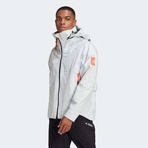 Adidas MYSHELTER waterproof men's Jacket White Size M New+tags