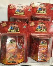 4 x Gormiti The Invincible Lords of Nature ~ Series 1 Single Figure Pack ~New