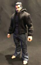 PP-HDJ-BK: 1/12 Black Hoodie Jacket for Mezco or Marvel Legends body (No Figure)