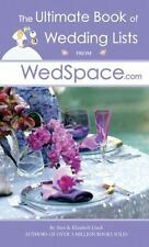 The Ultimate Book of Wedding Lists from WedSpace. Com by Alex A. Lluch and El...