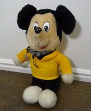"Vintage Knickerbocker Mickey Mouse Plush 16"""