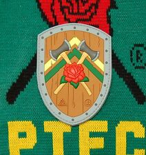 Portland Timbers Battle Shield Patch 3D PVC RCTID Rose City Timbers Army PTFC