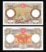 ITALY 100 Lire Roma Guerrière 1931 (Première Billet Impérial ) P 55 RARE !