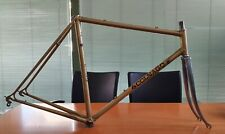COLNAGO SUPER vintage italian steel road frameset #29 gold COLUMBUS
