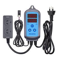 Inkbird digital AU plug Humidifier Dehumidifier Dual Switch Humidity Controller