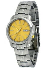 Seiko 5 Automatic Gold Dial Silver Stainless Steel Men's Watch SNKL81K1 RRP £169
