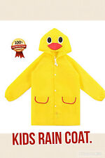 Childrens rain coat.. Be ready for the rain.. Waterproof universal rain suit....